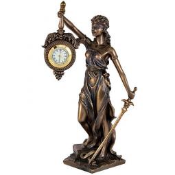 Статуэтка Юстиция с часами  Veronese \ VWU76754A4AL