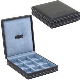 Шкатулка для хранения запонок Champ Collection CARBON \ 32053-5