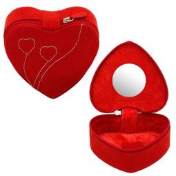 Шкатулка для украшений в форме сердца Champ Collection Amira \ 20092-4