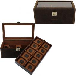 Шкатулка для хранения 20 наручных часов Champ Collection Cubano \ 27024-6