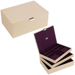 Универсальная шкатулка для хранения украшений и аксессуаров LC Designs Stackers \ 73123