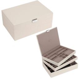 Универсальная шкатулка для хранения украшений и аксессуаров LC Designs Stackers \ 73128