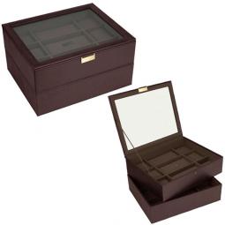 Двух ярусная шкатулка для часов LC Designs Stackers \ 73243