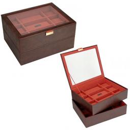 Двух ярусная шкатулка для часов LC Designs Stackers \ 73246