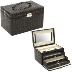 Классическая шкатулка для украшений Champ Collection Jolie Croco \ 23254-34