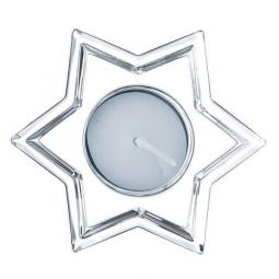 Хрустальный подсвечник в форме звезды 9.6 см Crystal Christmas Nachtmann \ 62645