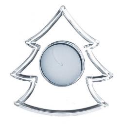 Хрустальный подсвечник в форме елочки 9.6 см Crystal Christmas Nachtmann \ 62644