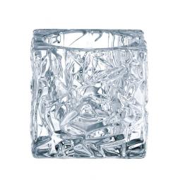 Набор хрустальных подсвечников 2 пр. 7 см Ice cube Nachtmann \ 90029