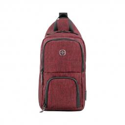 Рюкзак на одно плечо бордовый WENGER \ 605030