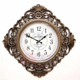 Настенные кварцевые бронзовые часы GALAXY \ Y-730 G
