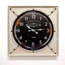 Настенные кварцевые белые квадратные часы GALAXY \ DA-002 White