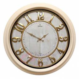Настенные кварцевые белые круглые часы GALAXY \ 1963 B