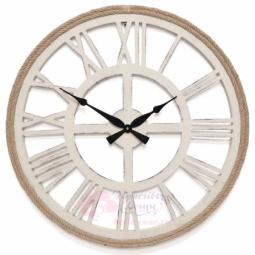 Настенные кварцевые белые круглые часы GALAXY \ DA-003 White