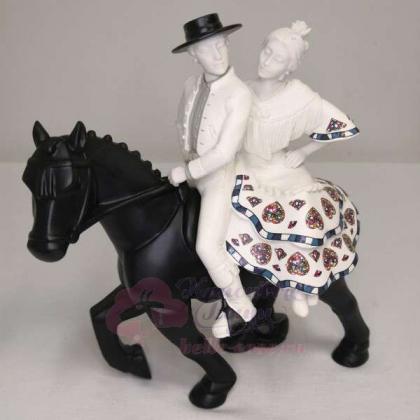 Статуэтка Nadal Пара на лошадях \ 763019