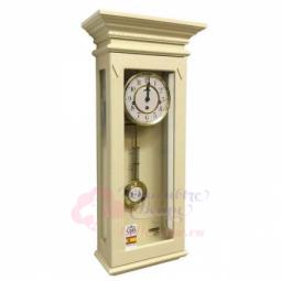 Настенные механические прямоугольные часы слоновая кость SARS \ 8512-341 Ivory
