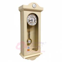 Настенные механические прямоугольные часы слоновая кость SARS \ 2592-341 Ivory