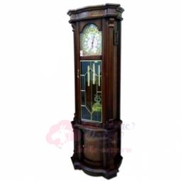 Напольные механические прямоугольные часы темный орех SARS \ 2085-451 Dark Walnut 2