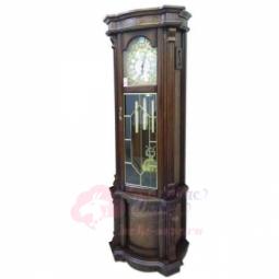 Напольные механические прямоугольные часы темный орех SARS \ 2085-451 Dark Walnut
