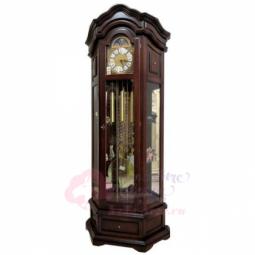 Напольные механические прямоугольные часы темный орех SARS \ 2089-1161 Dark Walnut