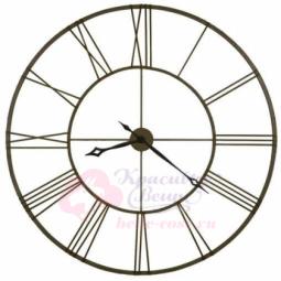 Настенные кварцевые часы металлические патина Гигант Династия \ 07-002