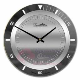 Настенные кварцевые круглые часы из стекла Династия \ 01-051