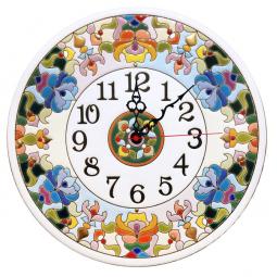 Настенные часы ручной работы 30 см РусАрт  Ч-3012