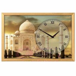 """Настенные часы из песка Династия 03-153  """"Тадж-махал"""""""