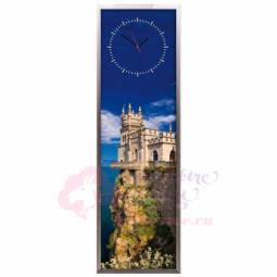 """Настенные часы из песка Династия 03-012 """"Ласточкино гнездо"""""""