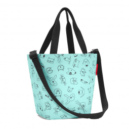 Сумка детская Shopper XS 31 см Cats and dogs Reisenthel \ IK4062
